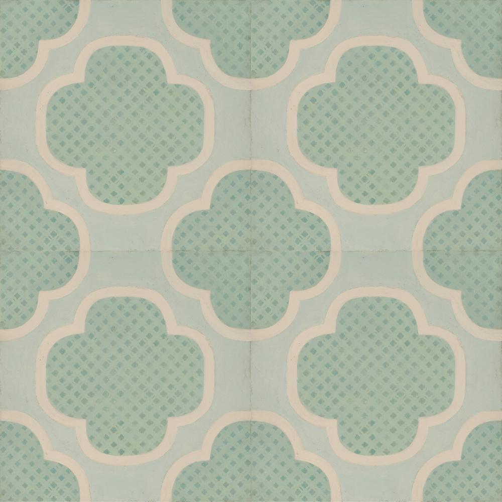 Celerie Kemble Quatrain 12x12 Hardwood tile #Mirthstudio