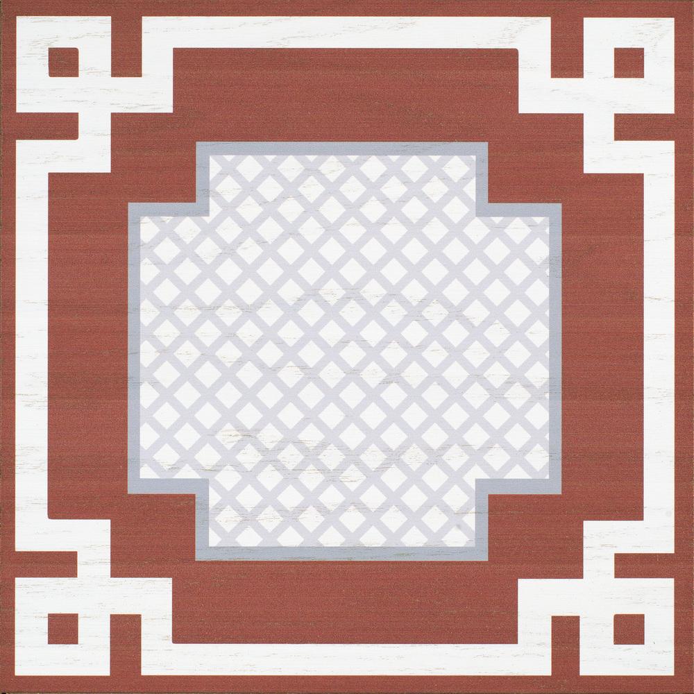 Barclay Butera Link 12x12 Hardwood tile #Mirthstudio