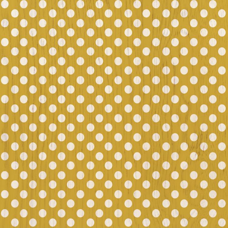 Polka Dot (Mustard)