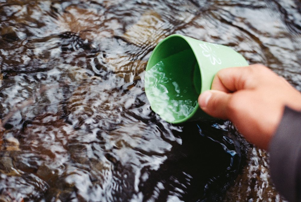 Hydration and filtration -