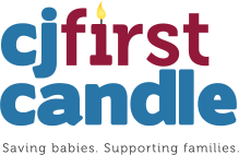 CJ First Candle logo