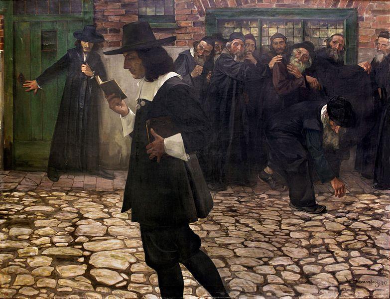Spinoza excommunié , Samuel Hirszenberg , 1907