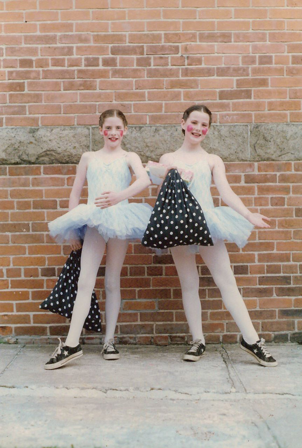 Nat as a Young Dancer (right)
