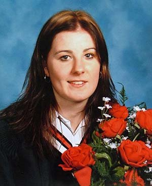 Natalie's graduation photo, 2004