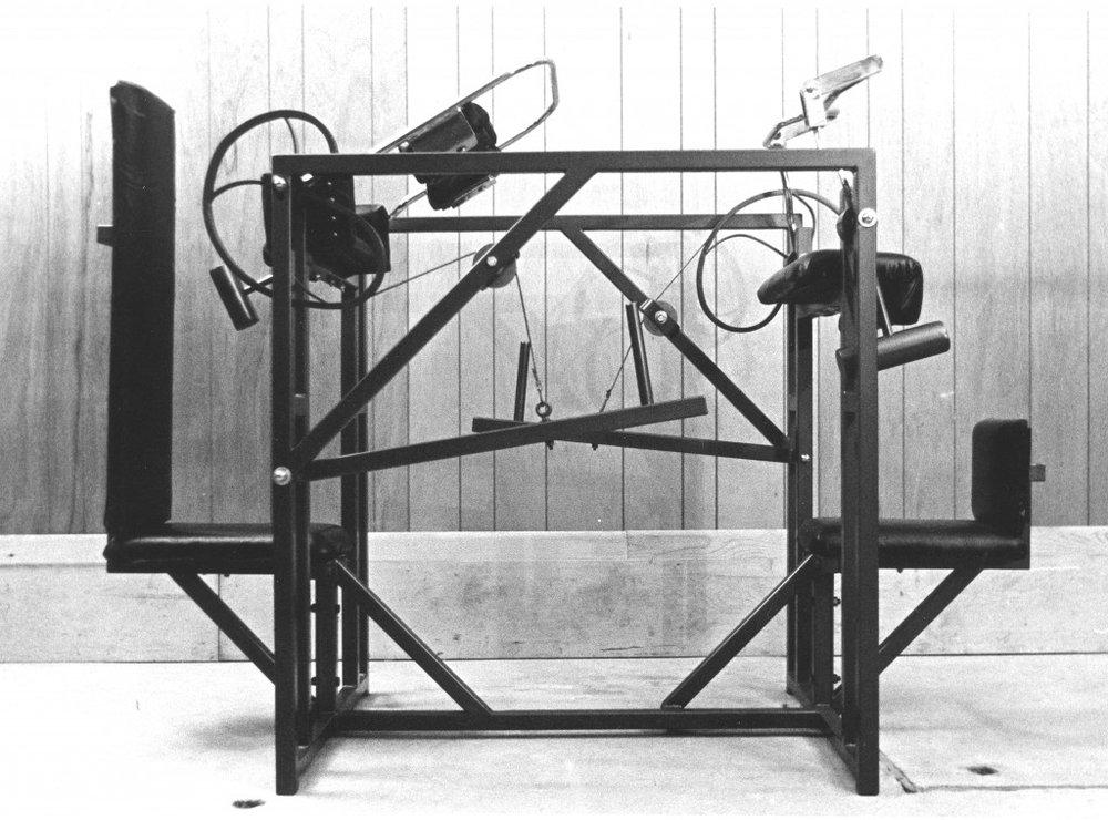 Image: Nautilus Plate-loading Biceps/Triceps machine, circa 1972
