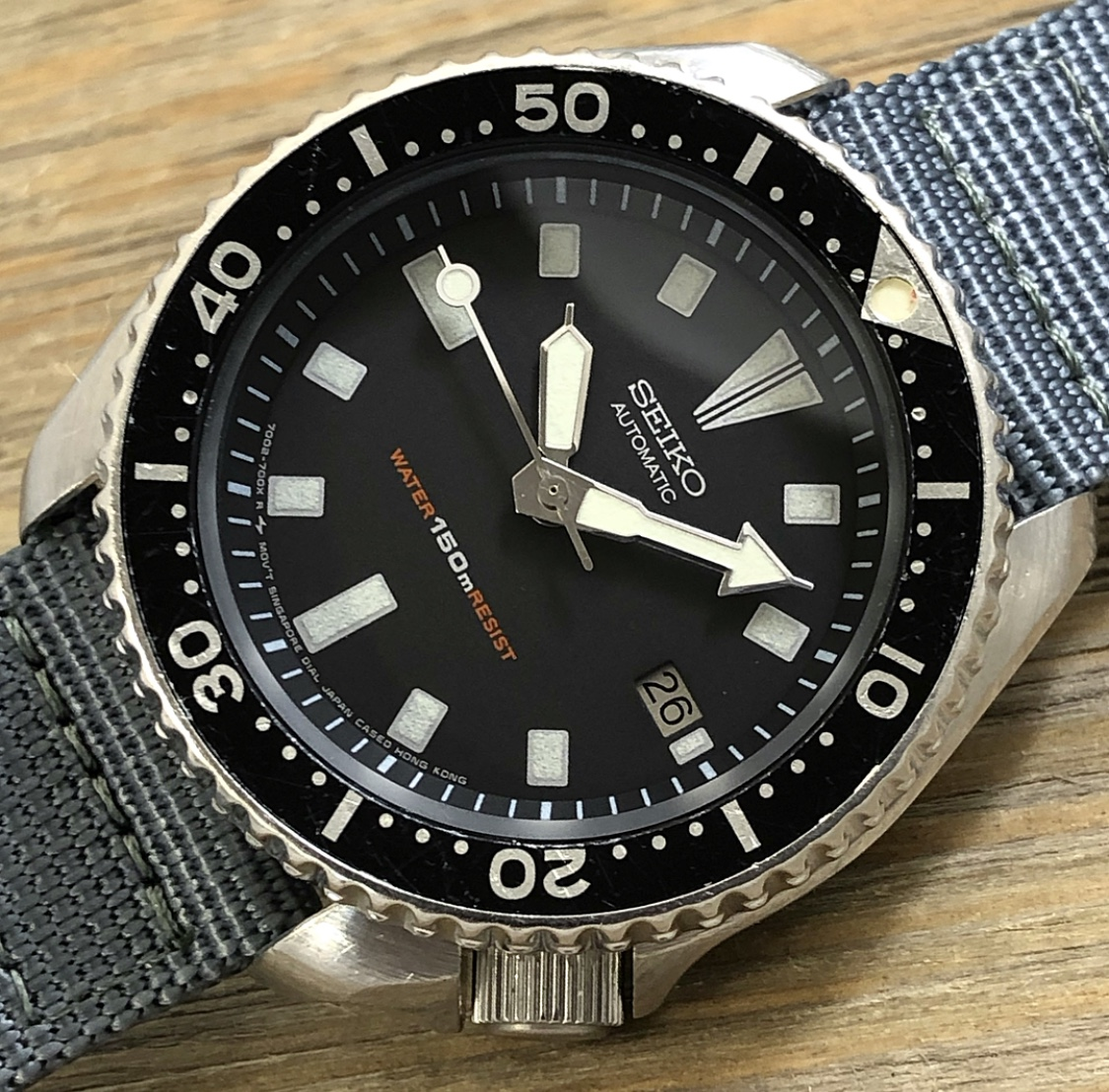 1990 Seiko 7002-7009 150m Sport Diver