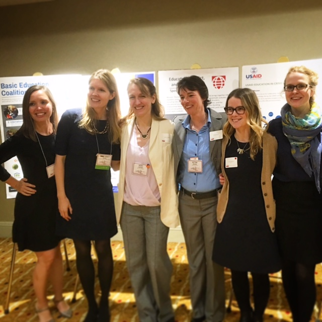 Teaming up for a mentoring event at CIES 2017