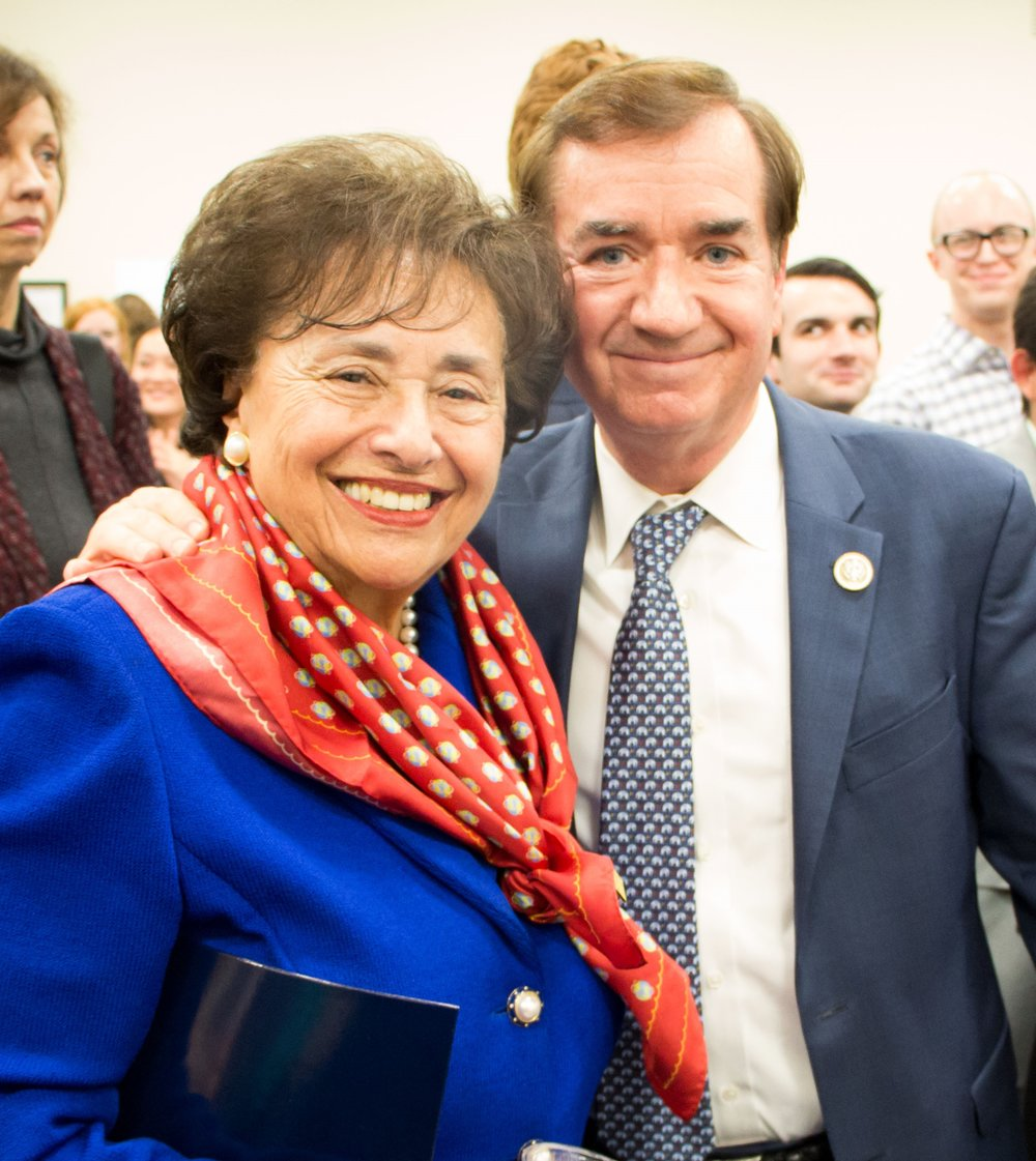 Congresswoman Lowey (D-NY) and Congressman Royce (R-CA).