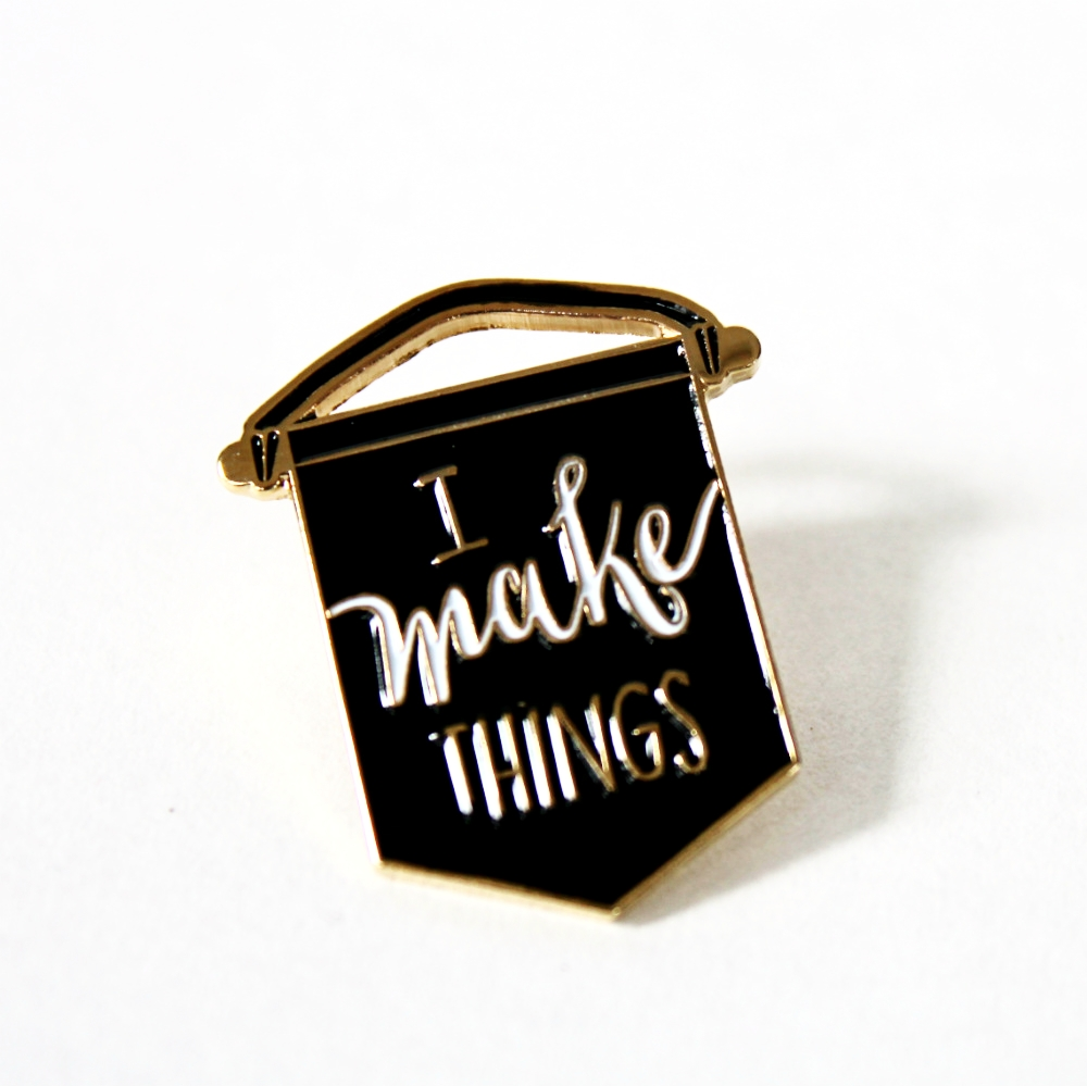 Makeology Pin