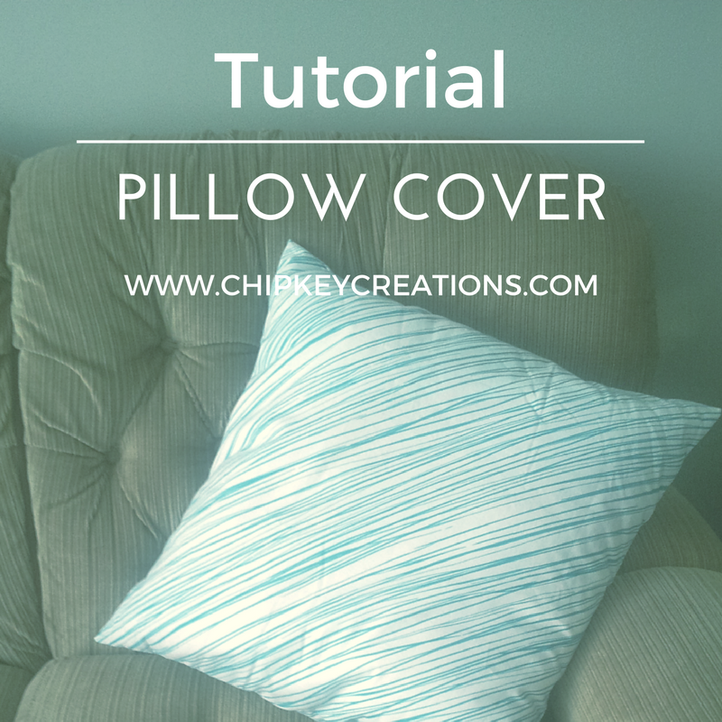 Tutorial pillow cover sewing