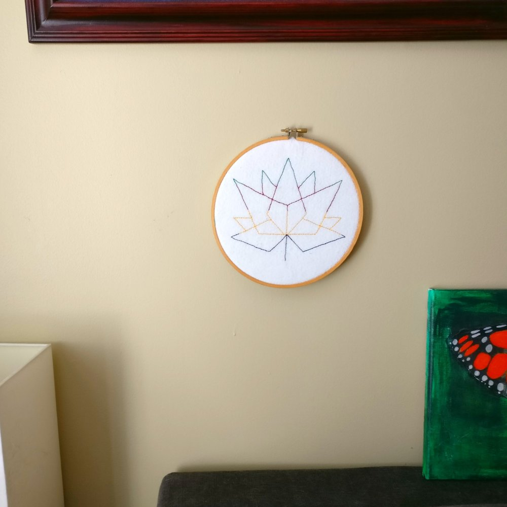 Canada 150 Hudson Bay embroidery