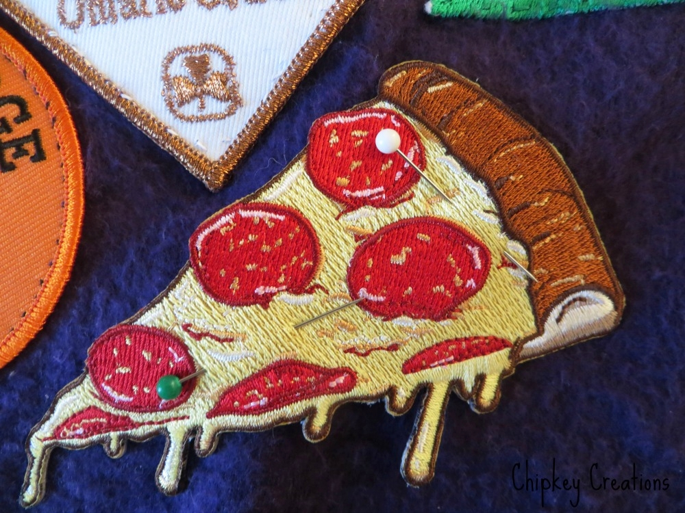 pizza pinned how to sew a patch