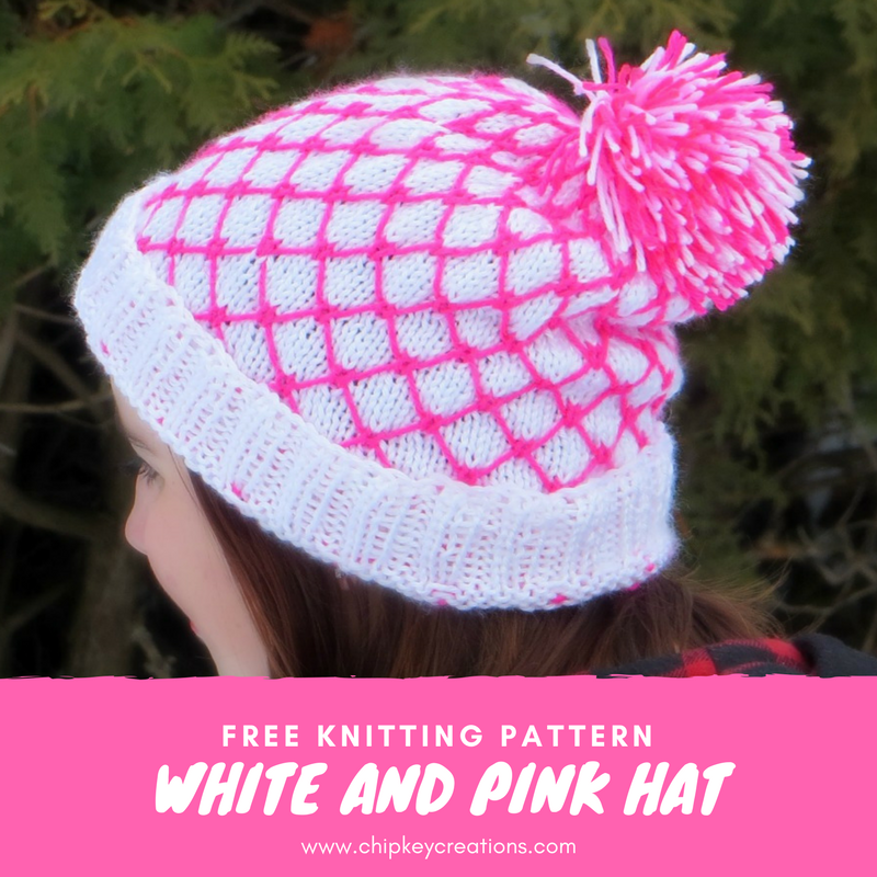 Free Pattern white and pink hat.png