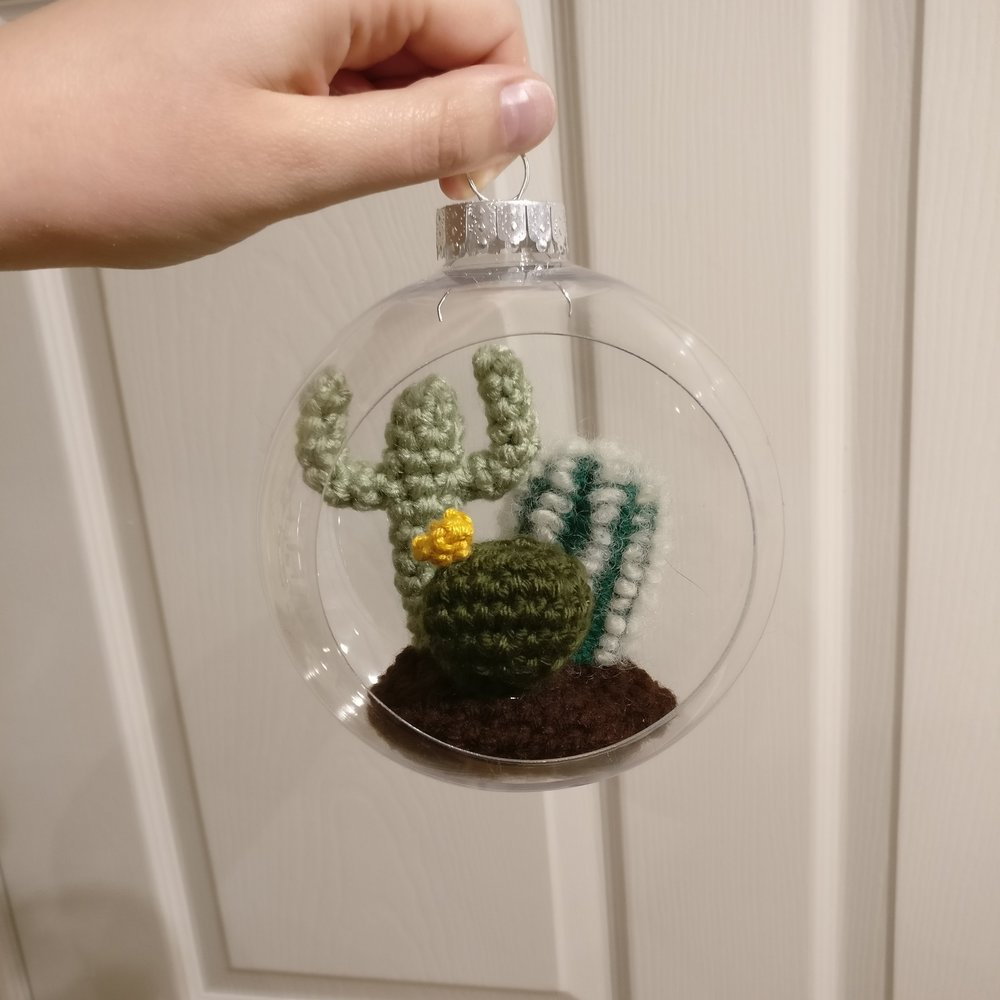 Cacti Ornament