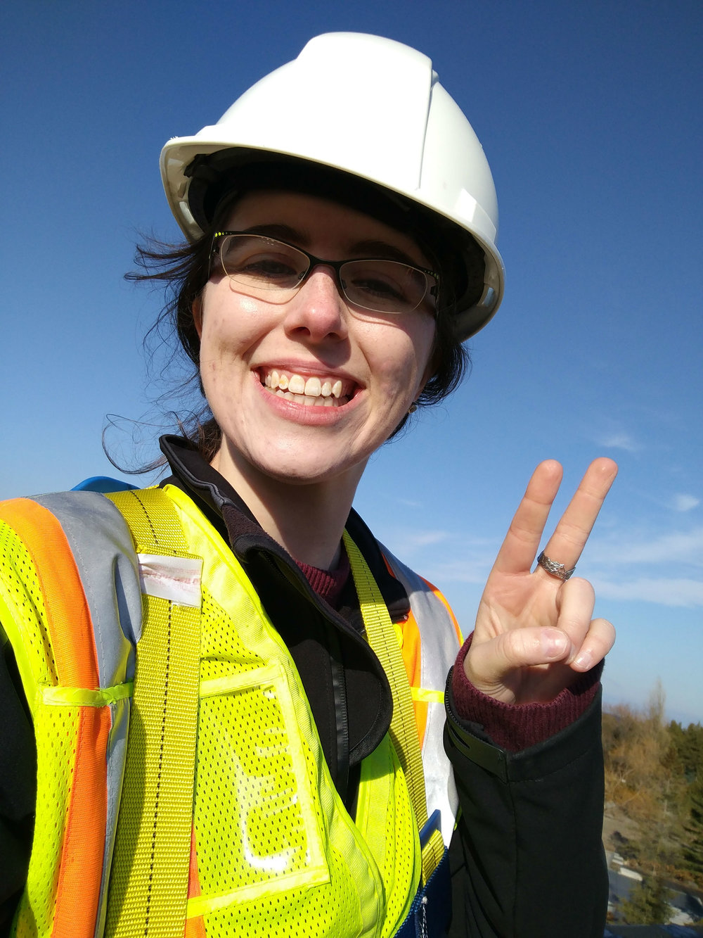 Throwing signs while on site