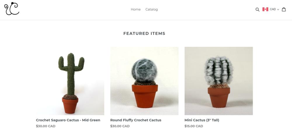 Chipkey Creations Shop Screen Shot