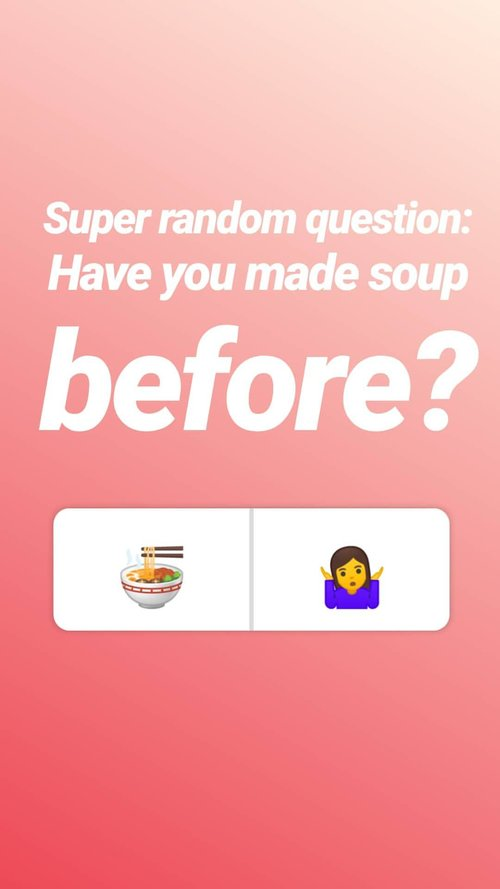 Asking About Soup