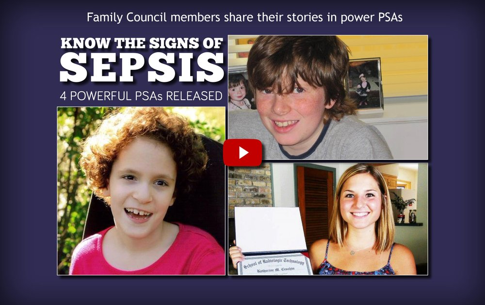 Council members shared their stories in powerful public service announcements