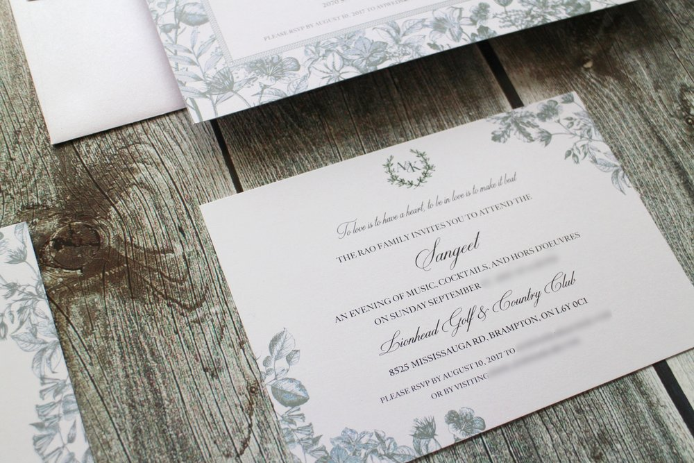 Gallery | By Design Invitations | Mississauga, Canada — Custom ...