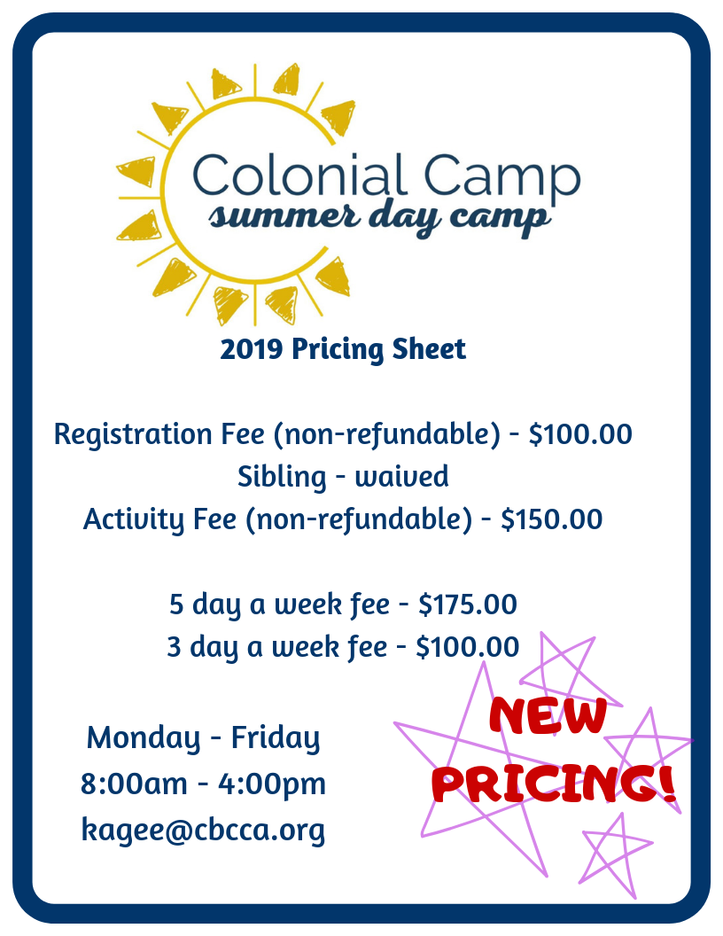 Pricing Sheet Registration Fee (non-refundable) - $100.00 Activity Fee (non-refundable) - $150.00 5 day a week fee - $250.00 3 day a week fee - $180.00 (must be set days) Monday - Friday 8_00am - 4 (1).png