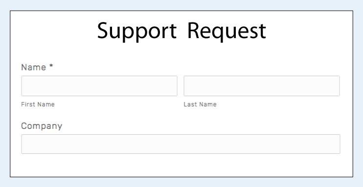 Online Support -