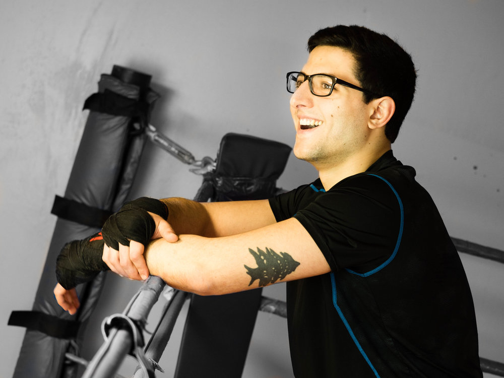PAUL - Biomedical and Electrical Engineering Student, Kickboxing Instructor