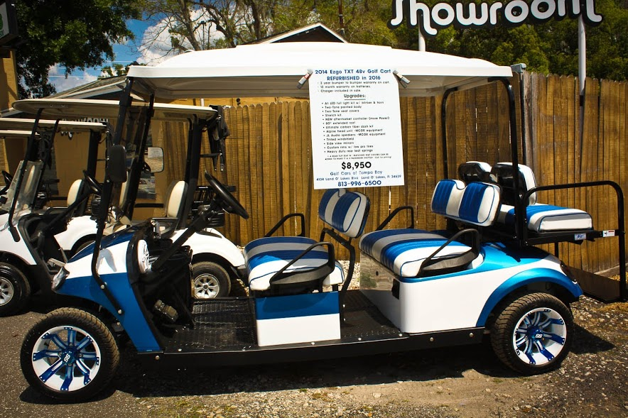 Used and Refurbished Carts