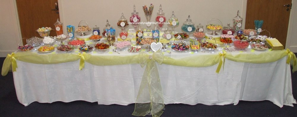 Asian Wedding Sweets Buffet luxury vintage sweets and candy table