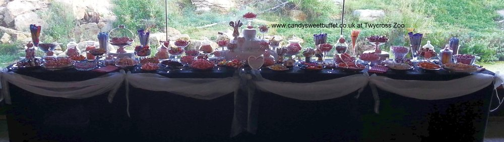 Wedding favours with a difference, unique sweets and candy buffets Midlands