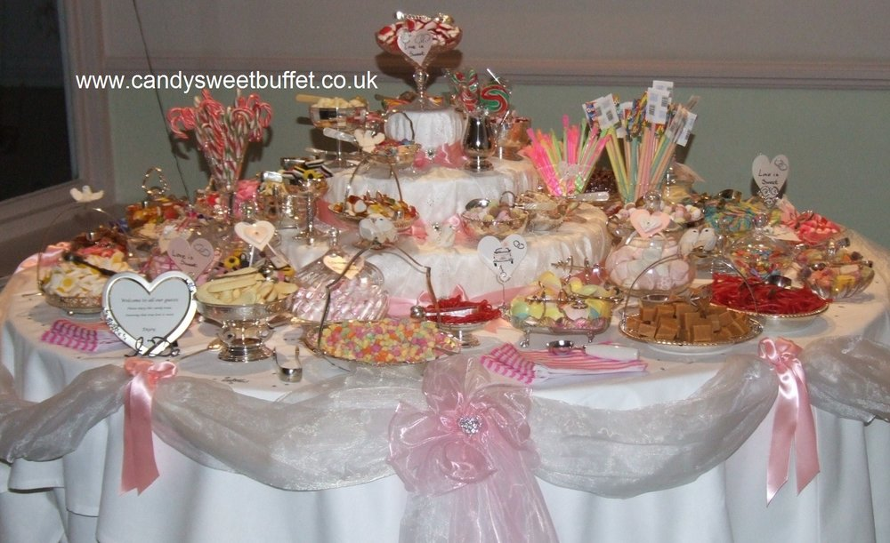 Wedding sweets and candy table, wedding favours Nottingham, Sheffield, Derby, Chesterfield, Leeds