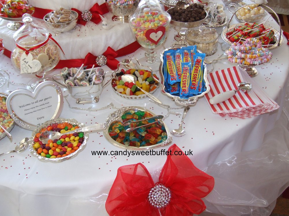 Wedding sweet table Midlands, luxury unique vintage, favours, canapes