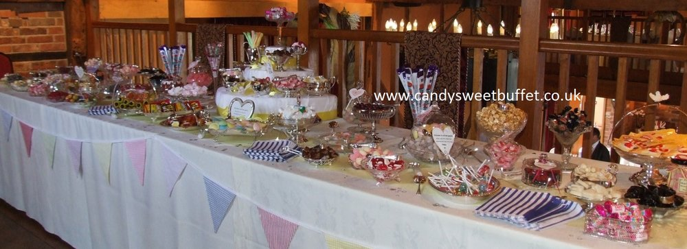 Wedding sweet table Sheffield, Derby, Leeds, Nottingham, Grantham
