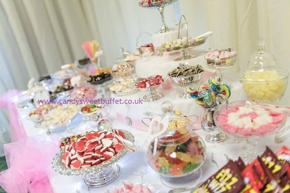 Wedding sweet shop, luxury vintage sweets and candy