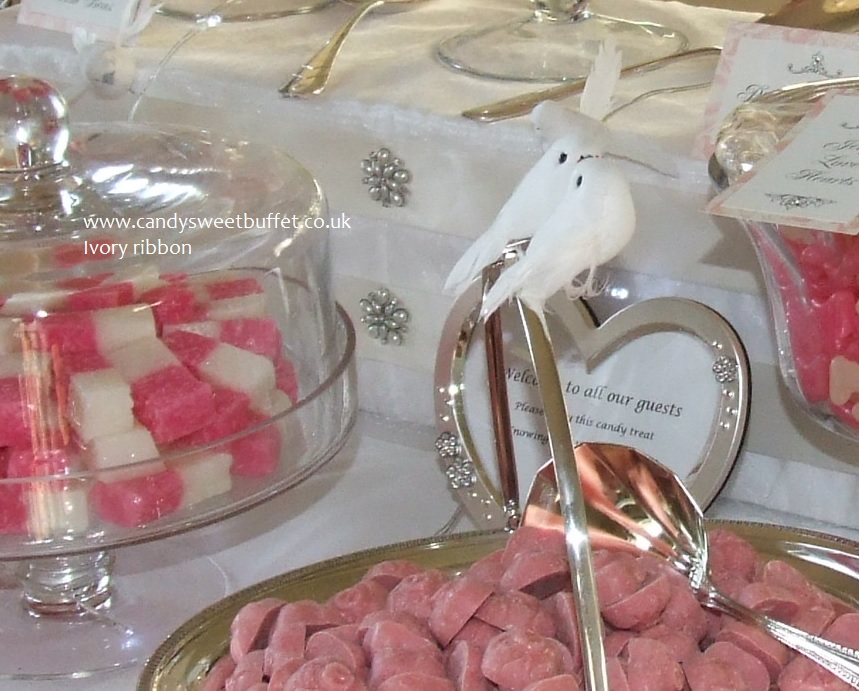Wedding sweets buffet table hire Nottingham, Leeds, Derby, Sheffield