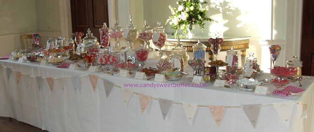 Party or Wedding sweet shop, luxury, unique Nottinghamshire, Yorkshire, Lincolnshire, Derbyshire