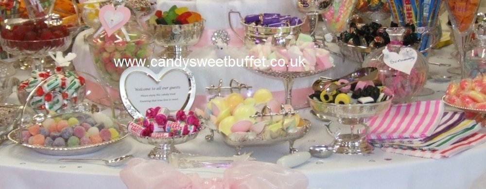 Wedding sweet table Nottingham