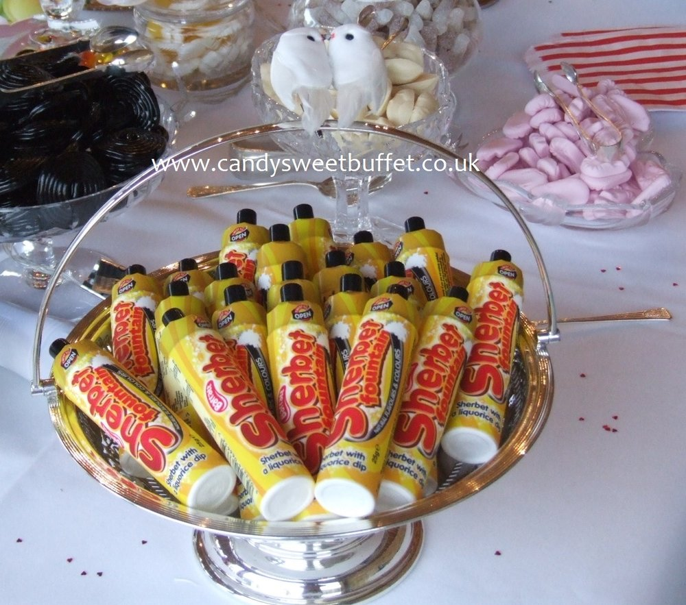 Wedding sweets and candy Sheffield, Chesterfield, Worksop, Nottingham, Doncaster, Lincoln