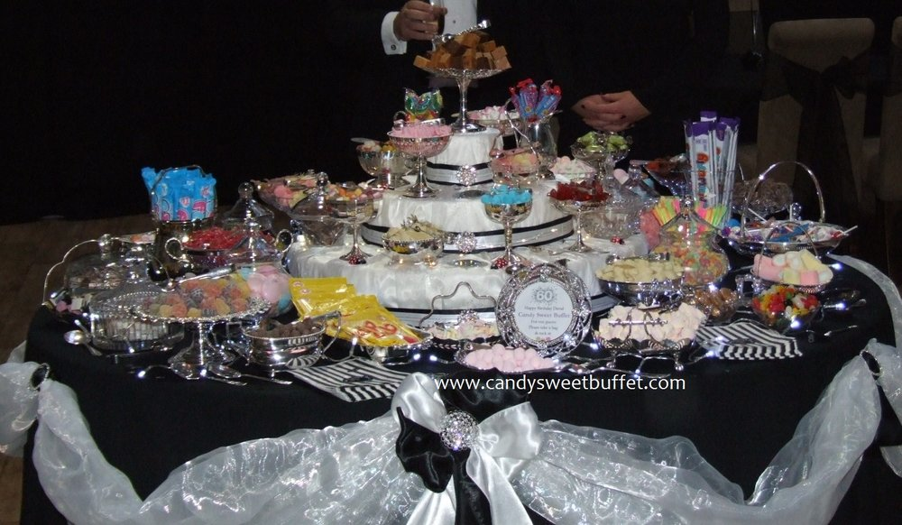 Candy Sweet Buffet, vintage pick and mix sweets table Derby