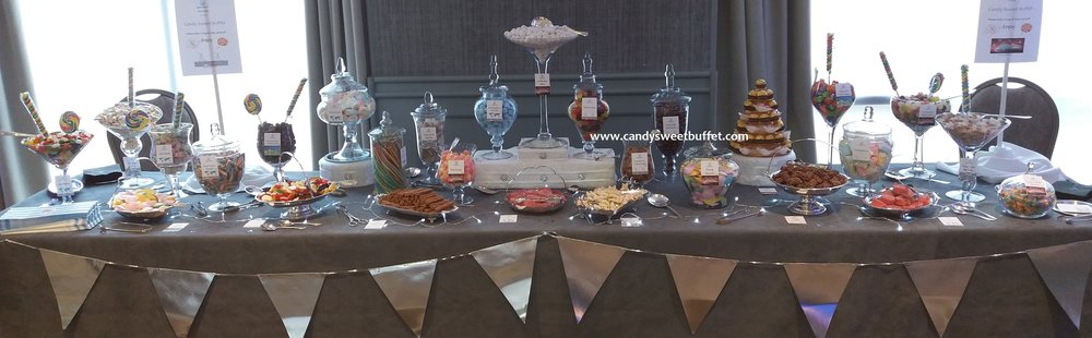 Candy Sweet Buffet corporate sweets table Hyatt Regency, Birmingham