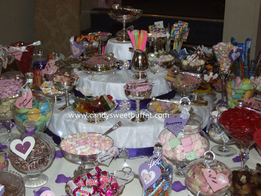 Prom party sweets buffet table Derby, Sheffield, Nottingham, Leeds