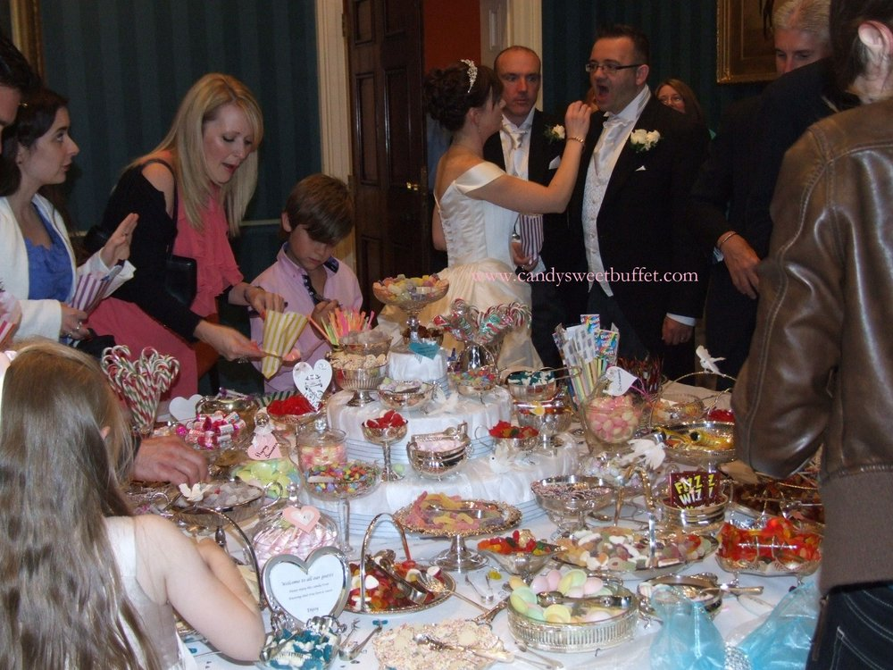 Candy Sweet Buffet wedding sweets table harrogate