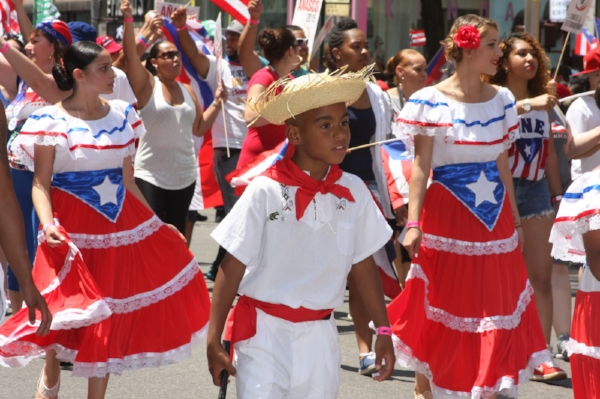 The Puerto Rican Day Parade in NYC celebrates its sixtieth anniversary this year. Photo courtesy of National Puerto Rican Day Parade inc.