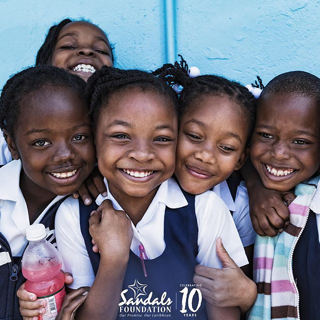 Happy 10th Anniversary, Sandals Foundation @sandalsfdn  It has been a joy to witness the positive change and profound impact you have made across the Caribbean in the last decade. We are proud to partner with you and look forward to all that lies ahead! #FaceTheCaribbean #SandalsFoundation #SFTurns10 . . . . . Felice 10° annniversario alla @sandalsfdn  Negli ultimi 10 anni, è stato un vero piacere essere testimoni dell'impatto positivo avuto dalla fondazione sulla qualità della vita delle popolazioni caraibiche. @sandalsresorts è orgogliosa di sostenere attivamente gli attuali progetti insieme a tutti quelli che ci riserva il futuro!  #FaceTheCaribbean #SandalsFoundation #SFTurns10