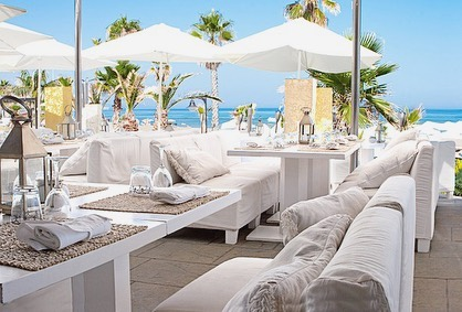 The summer season is about to start. Enjoy your first cocktail in the sun @purobeachmarbs  The Beach Club is open on March 22 and offers guests an exceptional culinary experience, modern cocktails and vibrant beats.
