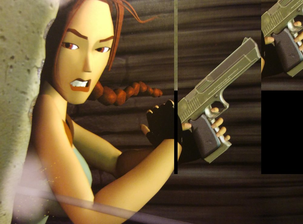 Lara in  Tomb Raider III.