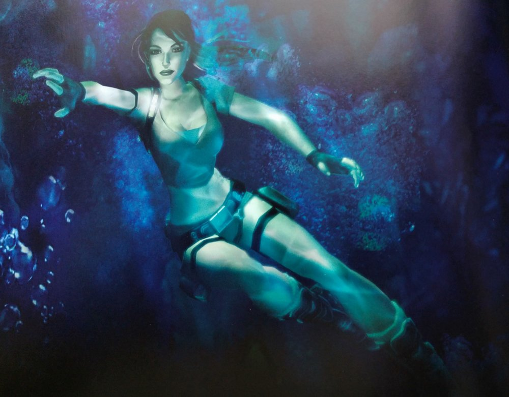 Concept art for  Tomb Raider: Legend .