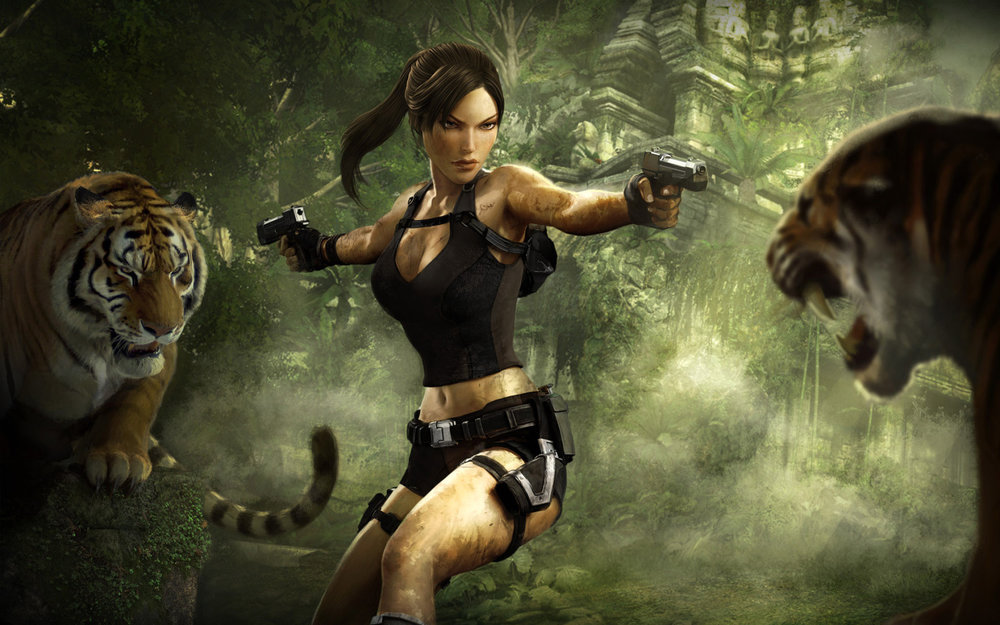 Lara Croft or Lara Cruz?