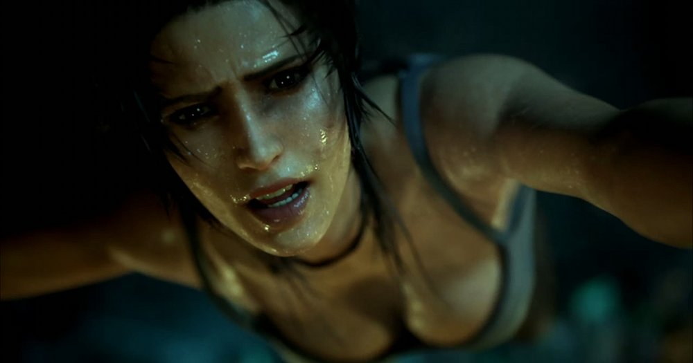 Lara Croft in the 2013 reboot:  Tomb Raider .