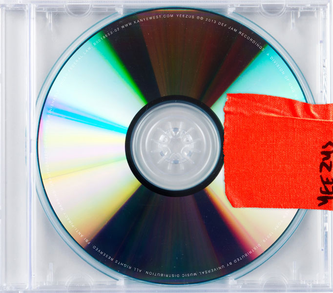 This is the cover art for the album Yeezus by the Kanye West.
