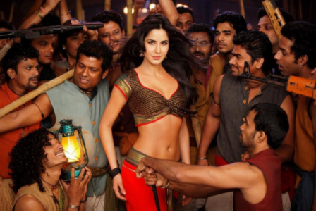 "Actress Katrina Kaif performs an item number in the movie ""Agneepath"". (Photo courtesy of MTV India.)"
